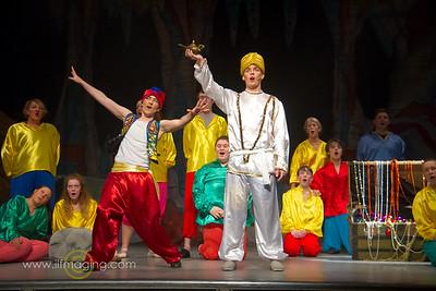 Aladdin, Hawick Panto, 2016