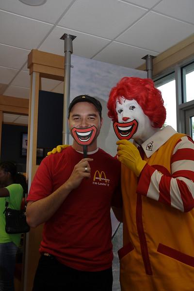 Fun at McDonalds!