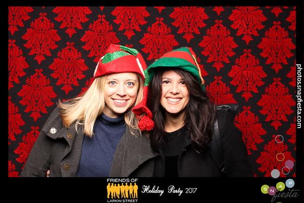 Friends of Larkin Street Holiday Party 12.6.17