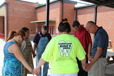 2014,  Prayer Walking Schools
