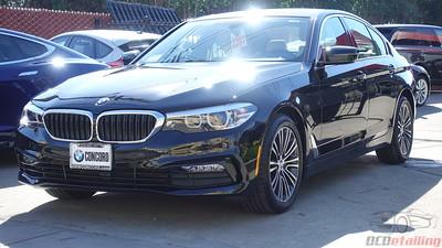 2018 BMW 530i - Black Sapphire Metallic