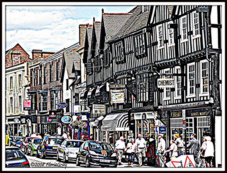 When Worlds Collide, Stratford-on-Avon  ©2008 FlorieGray