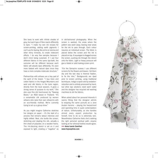 Selvedge Magazine - Issue # 64 - 2015