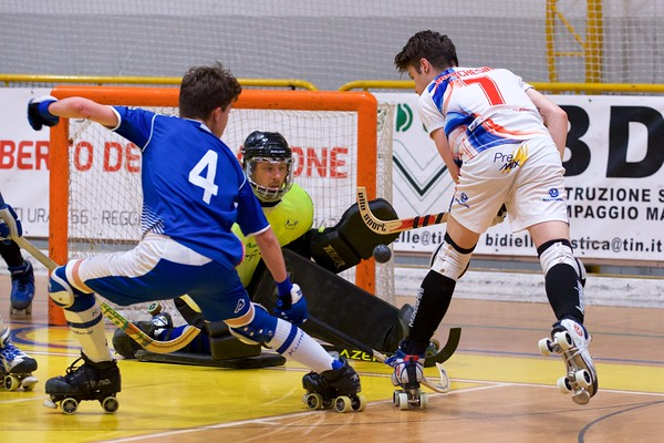 A2: Correggio Hockey vs HP Maliseti Prato