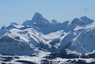 Canadian Rockies Skiing March 2020