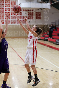 1/23/2015 Eaton JV Girls Basketball vs Estes Park