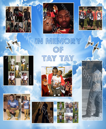 In Memory of Tay Tay Poster