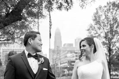 Wedding - April 7th - 2018 B&W