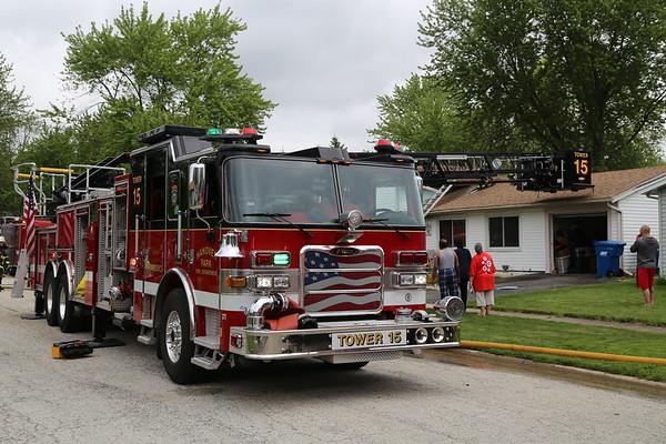 Hanover Park working house fire 5249 Lemon Ln 5-28-20