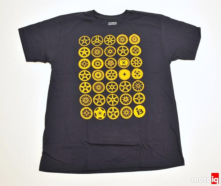 Import Bible, wheel shirt