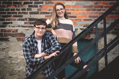 Twins Senior photos SC