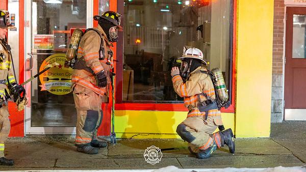 Apt Fire - City of Coatesville