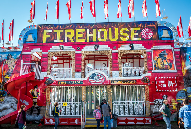 Firehouse at NC State Fair 2016