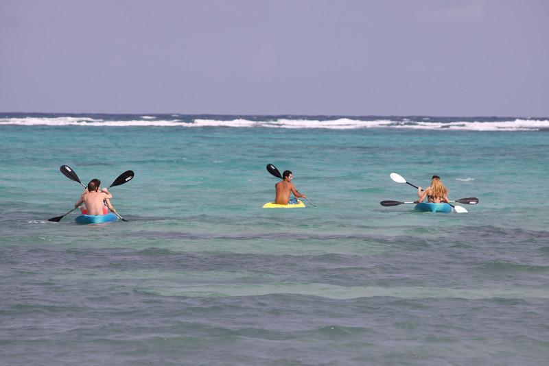 Justin's morning kayak