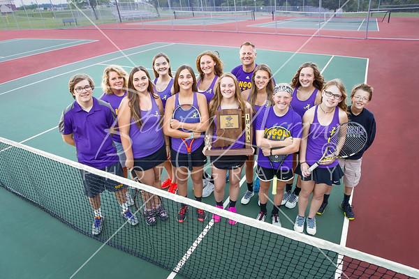Girls Tennis Sectional 2017