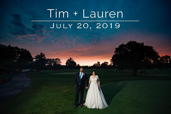 Lauren + Tim