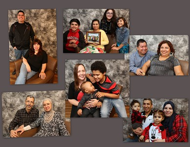 Habitat for Humanity Dane County Family Photo Shoot 02.23.2017