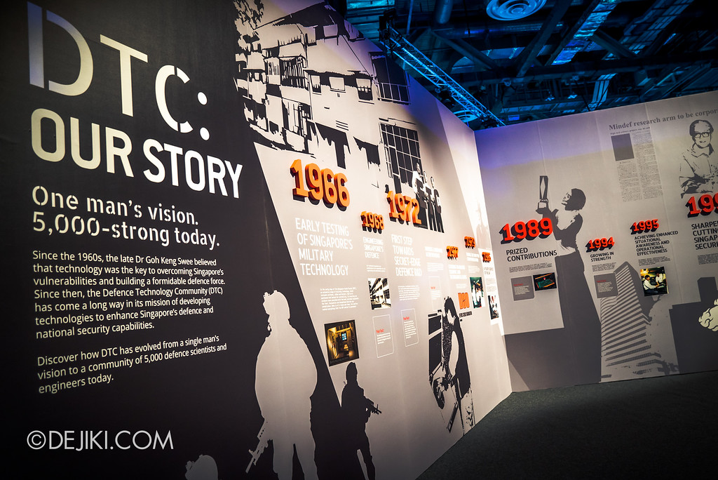Defence Technology Community 50th Anniversary - SG Defence Exhibition 2016 / The DTC Story