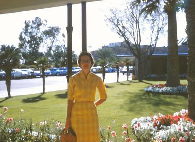 Margaret & Oscar's honeymoon 1959