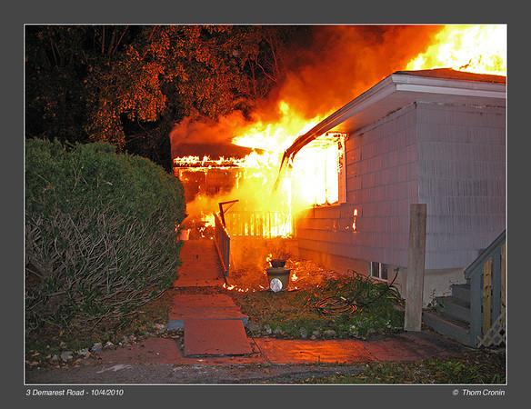 House Fire - 10/4/2010