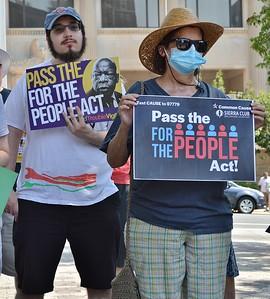 Voting Rights rally - Wilmington, DE - 7/17/21