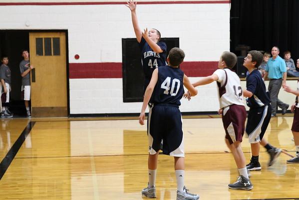 Jr. High Boys Basketball 2014-2015