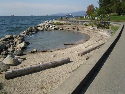 Sea wall walk Stanley Park