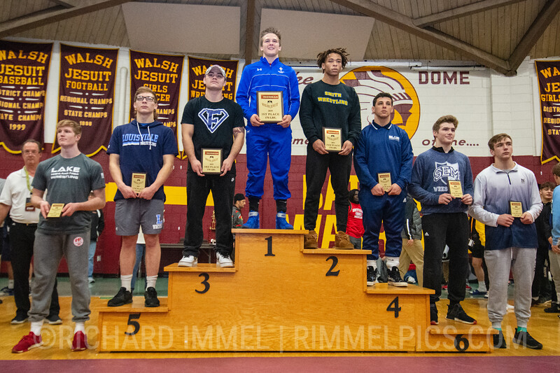 170: 1st Place - Tyler Stoltzfus of St Josephs Catholic Academy; 2nd Place - Jaden Bullock of Oscar Smith; 3rd Place - Nevan Snodgrass of Kettering Fairmont; 4th Place - Domonic Mata of Blair Academy; 5th Place - Jax Leonard of Louisville; 6th Place - Andrew Donahue of Wyoming Seminary; 7th Place - Bailey Flanagan of Lake Highland Prep; 8th Place – Ethan Anderson of Aurora