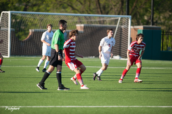 MBA Varsity Soccer vs Baylor 4-15-16