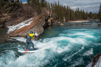 Whitewater SUP in the Winter?