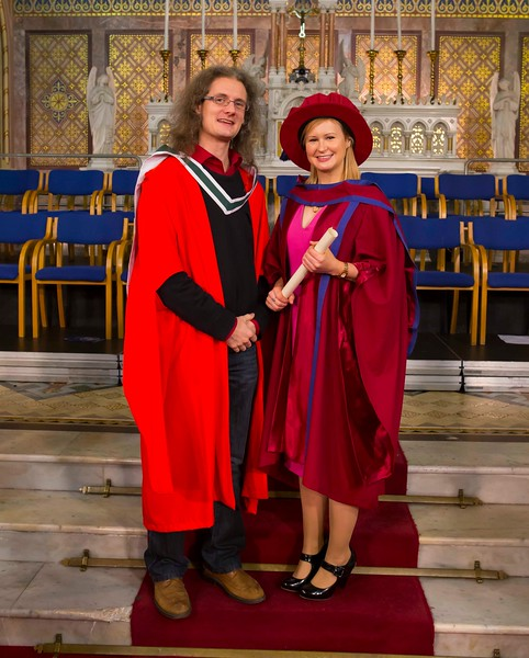 Waterford Institute Of Technology Conferring. Pictured at WIT Waterford Institute Of Technology Conferring is Jill O'Mahoney, Waterford, who was conferred a Doctor of Philosophy. Picture: Patrick Browne