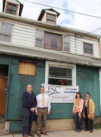 Tamaqua Community Partnership Purchases Tiki Bar, Mauch Chunk St, Tamaqua (10-18-2013)