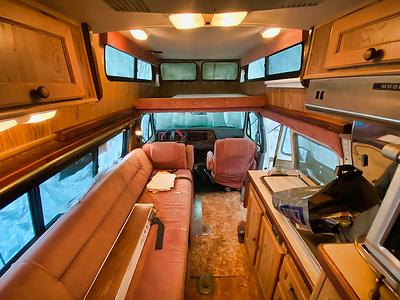 89 Ford Camper Van