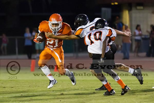 Boone JV Football #21 - 2012
