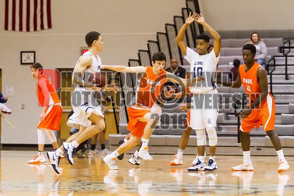 Boys Varsity Basketball #12 - 2016