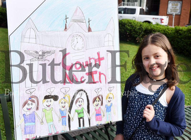 Harold Aughton/Butler Eagle: Lyric Pappas, 3rd grader Emily Brittain Elementary