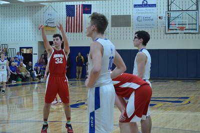 Varsity Boy's Basketball vs Nouvel (District Final)