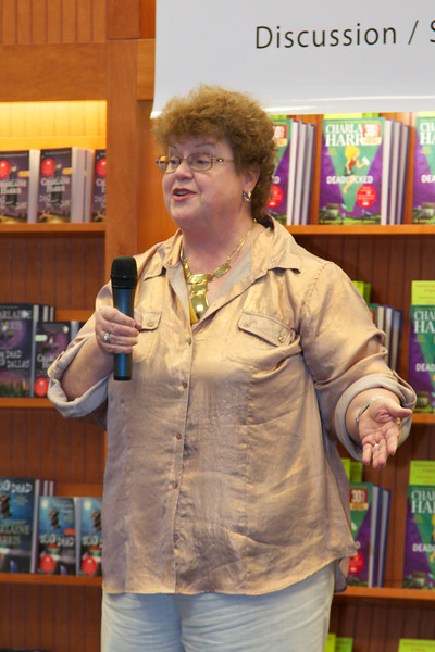 Charlaine Harris event 09 May 2012