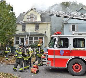 House fire - A Place Rochester, NY - 10/18/20