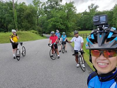 Cycling July 18, 2021