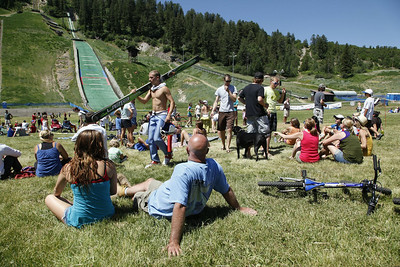 Steamboat July 4th Ski Jumping
