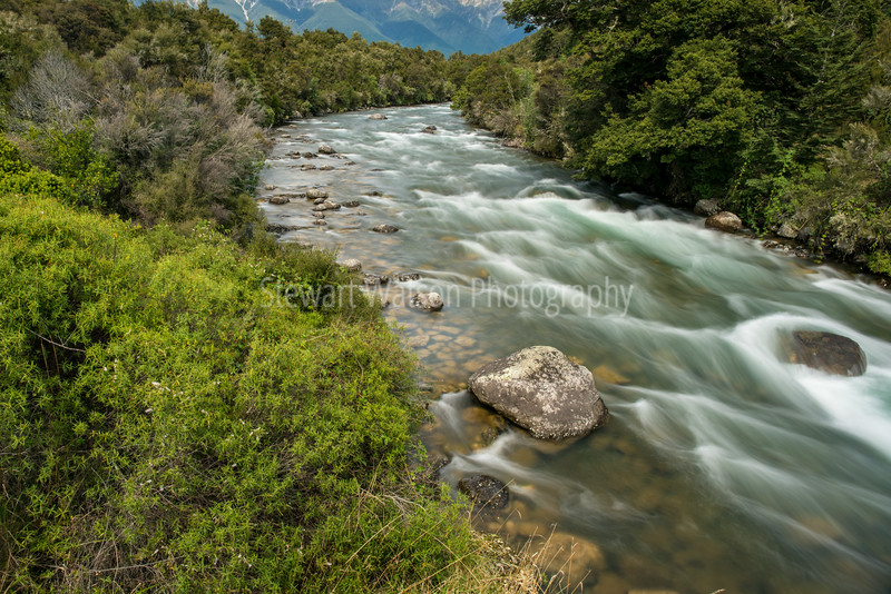The Buller river rapids