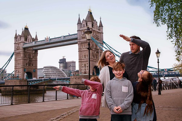 Family vacation in London