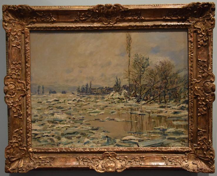 Museum Gulbenkian, Claude Monet (1840-1926) Eisschmelze