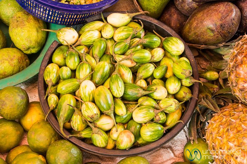 Bitter Tomatoes or Little Eggplant? Mengo Market, Kampala