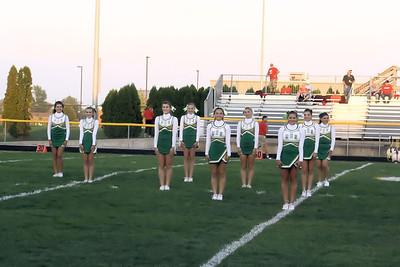 Cheerleaders & Maplettes Homecoming 2013!