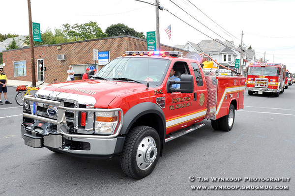 Huntington Volunteer Fire Department at Pen Argyl's 74th Annual Labor Day Parade