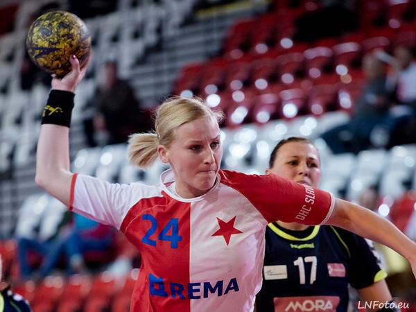20. kolo: Slavia - Olomouc 34:17