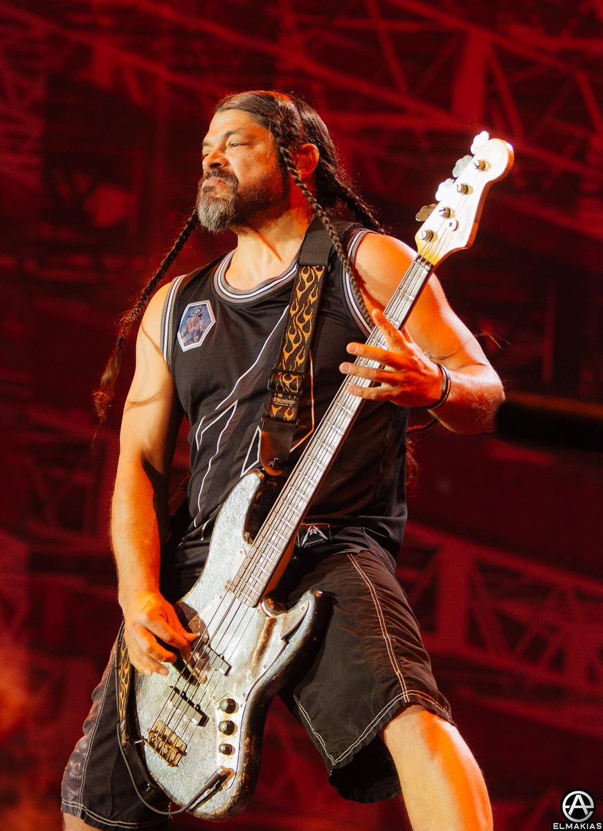 Robert Trujillo of Metallica at Rock in Vienna 2015