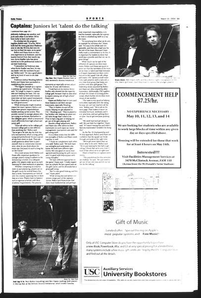 Daily Trojan, Vol. 151, No. 46, March 31, 2004